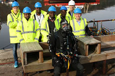 The Underwater Centre provides MSc students with a deeper understanding of working subsea