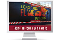 New flame detection video