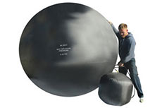 Inflatable Stoppers come in many shapes, sizes and materials