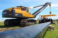 Volvo undertakes pipeline project in Argentina