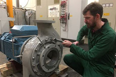 AIES approaches Amarinth to design a pump