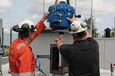 Rotork valve actuator success on nat gas network