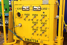 Enermech uses subsea test manifold for hydrotest job