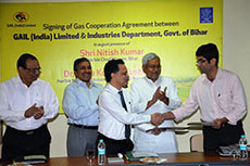 Gail signs GCA with Bihar government