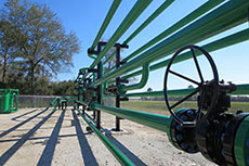 Greene's completes pipeline training and test loop facility