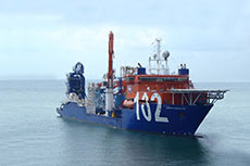Conference and tours of McDermott's new vessel