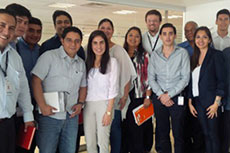Pemex Mexico team welcomes graduate recruits