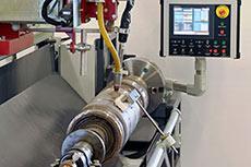 New welding lathe from Mavrix Welding Automation