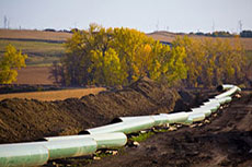 TransCanada Corp. promotes the national benefits of Energy East pipeline