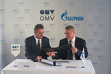 OMV and Gazprom sign agreement for gas supplies