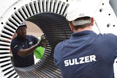 Sulzer advises on motors and generators