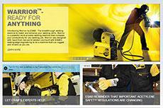 New website for pipeline welder ESAB