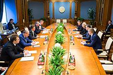 Gazprom holds meeting to discuss gas supply to Republika Srpska