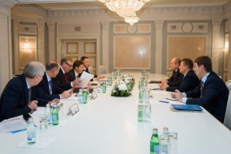 Gazprom discusses the future with pipe companies