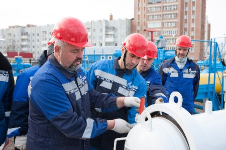 Gazprom Transgaz Ukhta announces best pipe fitters