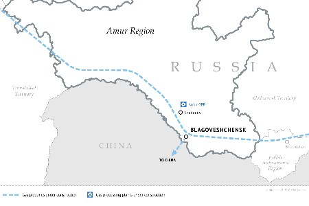 Gazprom and Amur Region discuss status of ongoing projects