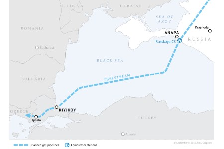 Construction to begin on TurkStream's first string