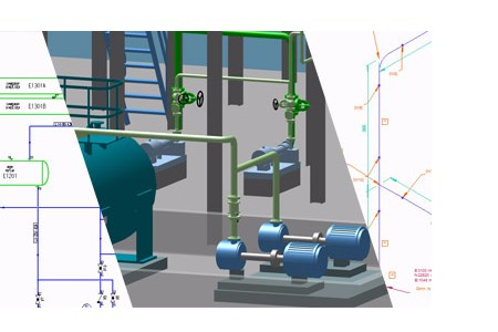P&IDs, pipework and piping isometrics in one go