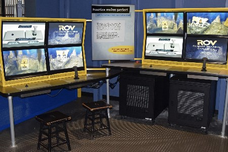 Forum's ROV simulator exhibited at California Science Centre