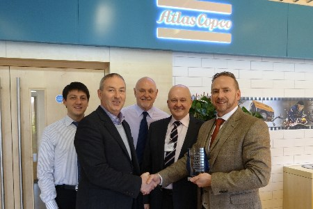 Air Kraft wins Atlas Copco Distributor of the Year award