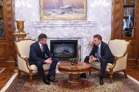 Gazprom and Moldovagaz discuss ongoing and future activities