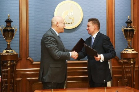 Gazprom and Eni sign MoU for gas supply from Russia to Europe