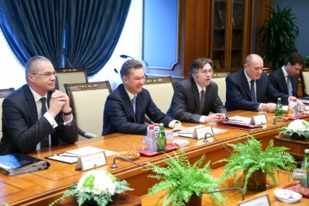 Gazprom and BASF discuss hydrocarbon projects