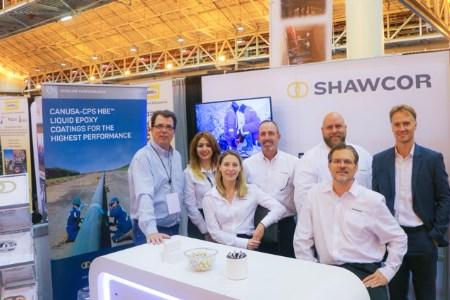 Shawcor recalls NACE Corrosion exhibit