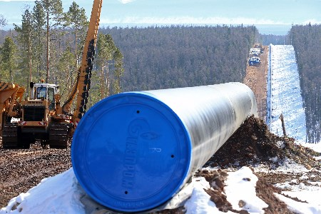 Russia and China discuss gas supplies and pipelines