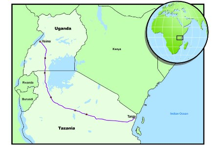 Gulf to deliver FEED services for the East African crude oil pipeline