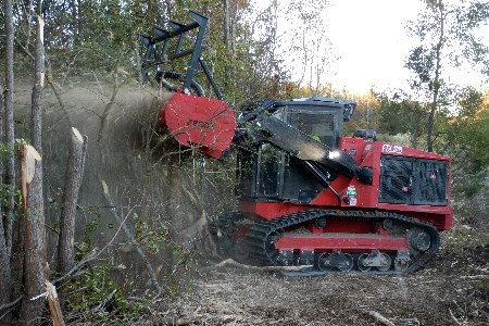 Fecon introduces new rubber tracked mulcher