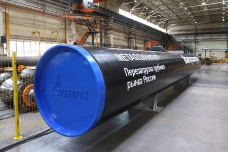ZTZ starts producing large diameter pipe for Gazprom