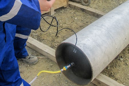 HFT overcomes zero colour weld challenges with inflatable pipe purging systems