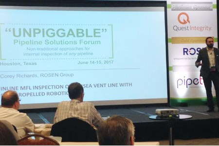 ROSEN participates in Unpiggable Pipelines Solutions forum