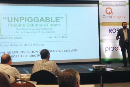 ROSEN participates in Unpiggable Pipelines Solutions forum