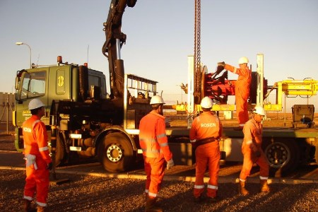 ROSEN provides cleaning and inspection services for Maghreb-Europe pipeline