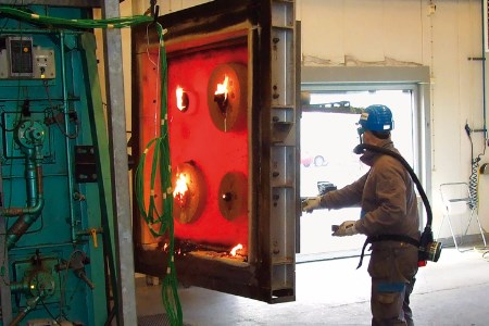 Roxtec builds new fire test lab