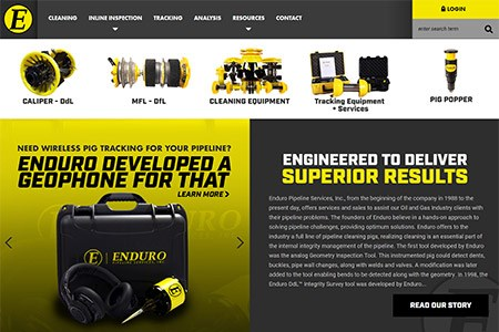 Enduro Pipeline Services launches new website