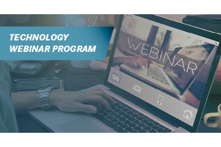 New technology webinar programme