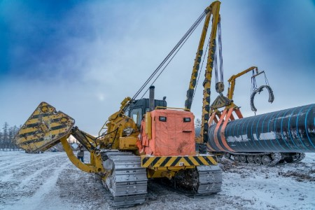 Section of the Power of Siberia gas pipeline is 75.5% completed