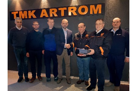 TMK-ARTROM starts production on new heat treatment line for pipes
