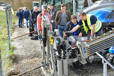 TRACTO-TECHNIK holds demonstration days for customers and partners