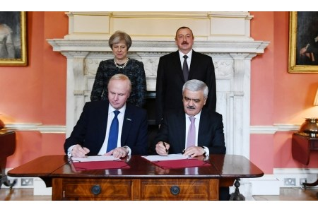 SOCAR and BP sign new production sharing agreement for Azerbaijan exploration