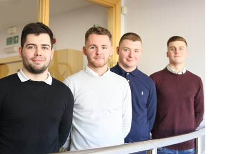 Four graduates ready to weld the future