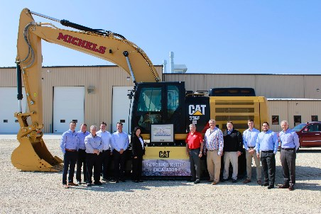 Michels Corp. receives 10 000th machine from excavator facility