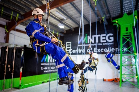 MInteg invest in rope access training centre
