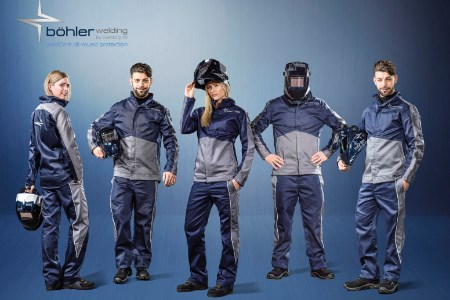 voestalpine Böhler Welding launches personal protection equipment line