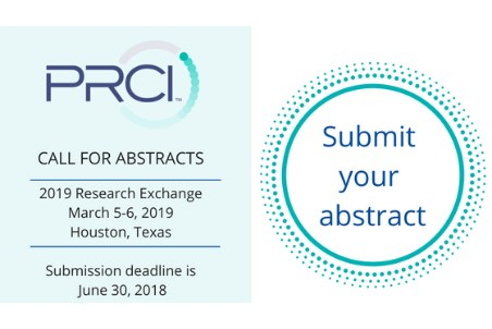 PRCI: call for abstracts for 2019 Research Exchange