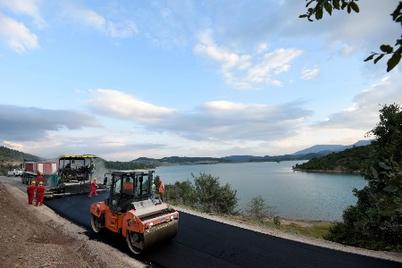 TAP rehabilitates another road in Albania