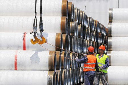 Start of nearshore works for TurkStream pipeline